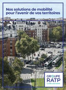"""Couverture - """"Nos solutions de mobilité pour l'avenir de vos territoires"""""""