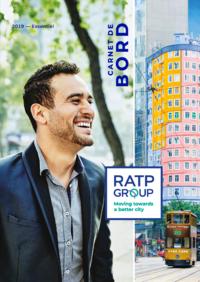 """Couverture - """"Groupe RATP 2019 - Carnet de bord"""""""